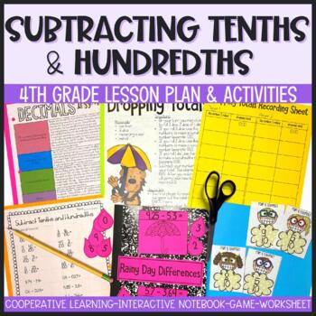 Subtracting Decimals, Tenths, and Hundredths - 90 Minute Math Makeover