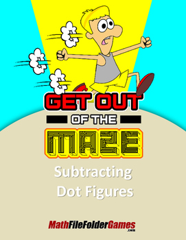 Subtracting Dot Figures Fun Worksheets