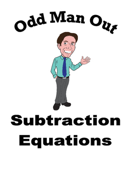 Subtracting Equations - Odd Man Out