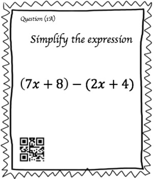 Subtracting Expressions (30 Task Cards – 3 different levels!)