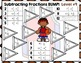 Fraction Subtraction Games: Subtracting Fractions & Subtracting Mixed Numbers
