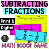 Subtracting Fractions - 5th Grade Fraction Practice Worksh