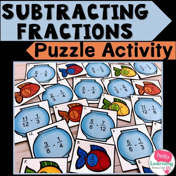 Subtracting Fractions Activity