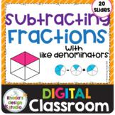 Subtracting Fractions Like Denominators Math Distance Lear
