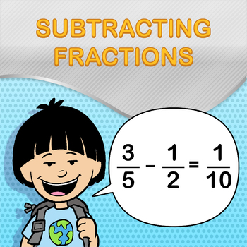Subtracting Fractions Worksheet Maker - Create Infinite Math Worksheets!