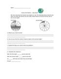 Subtracting Fractions Pie Task