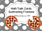 Subtracting Fractions Task Cards {Enhanced with Augmented Reality}