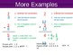 Subtracting Fractions and Mixed Numbers:  Like Denominators