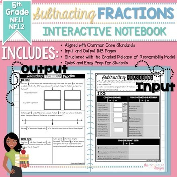 Subtracting Fractions w/Unlike Denominators(5.NF.A.1, 5.NF.A.2;5.NF.1.1,5.NF.1.2
