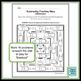 Subtracting Fractions with Unlike Denominators Maze
