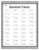 Subtracting Within 5 Worksheets