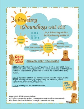 Subtracting Groundhogs with Phil