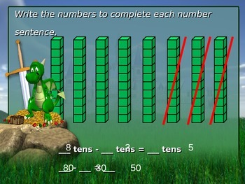 Subtracting Groups of 10
