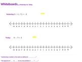 Subtracting Integers (Adding the Opposite)