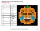 Subtracting Integers - Color-By-Number PUMPKIN EMOJI Math Mystery Pictures