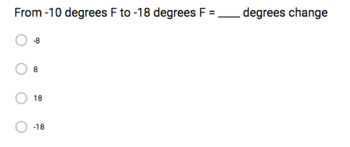 Subtracting Integers (Google Form & Interactive Video Lesson!)