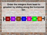 Subtracting Integers & Ordering Integers Flipchart w/ 2-Co