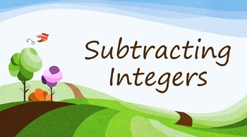 Subtracting Integers (PowerPoint)