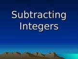 Subtracting Integers Slide Show