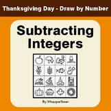 Thanksgiving Math: Subtracting Integers -  Math & Art - Dr