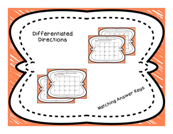 Subtracting Like Fractions Differentiated Word Problem Task Cards
