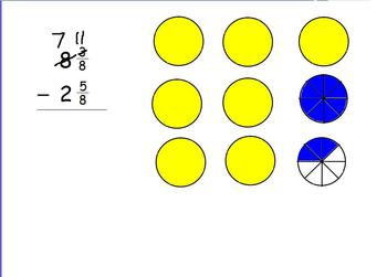 Subtracting Mixed Numbers