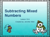 Subtracting Mixed Numbers (5th Grade EnVision Math Power Point)