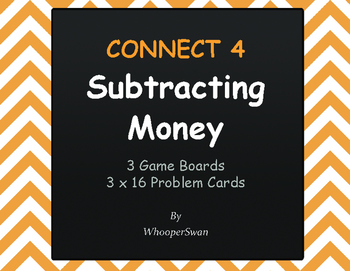 Subtracting Money - Connect 4 Game