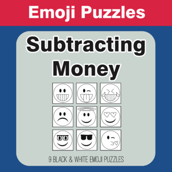 Subtracting Money - Emoji Picture Puzzles