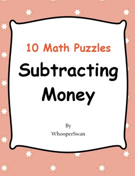 Subtracting Money Puzzles