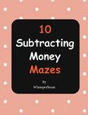 Subtracting Money Maze