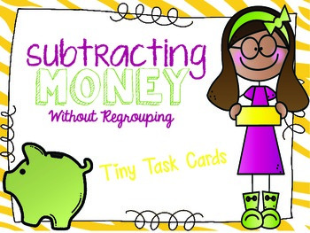 Subtracting Money without Regrouping