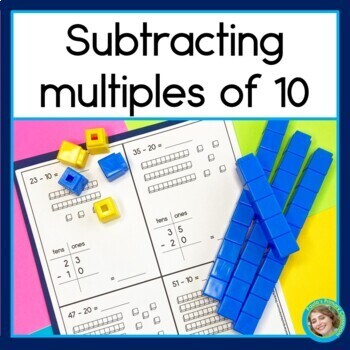 Subtracting Multiples of 10 from a 2 digit number
