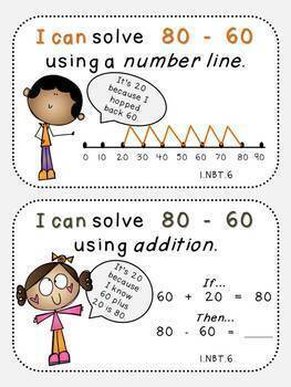 Subtracting Numbers-Place Value Pack 6 (First Grade, 1.NBT.6)
