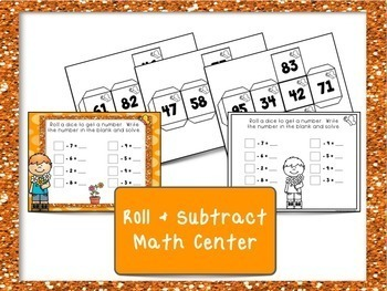 Subtracting One Digit Numbers from Two Digit Numbers