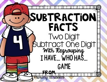 Subtracting One Digit from Two Digit with Regrouping I Hav