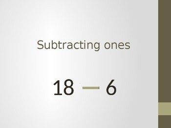 Subtracting Ones