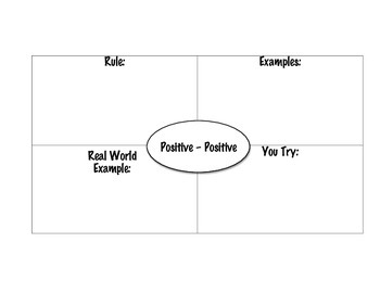 Subtracting Positives-Positives