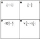 Subtracting Rational Numbers - Task Card Activity
