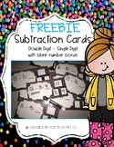 Subtracting Teen Numbers from Single Digits (FREEBIE)