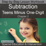 Subtracting Teens Minus One-Digit Numbers | Special Ed Math | Intervention