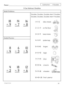 Subtracting Teens Minus One-Digit Numbers   Special Ed Math   Intervention