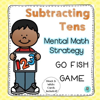 Subtracting Tens Go Fish Game