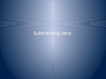 Subtracting Tens Power Point