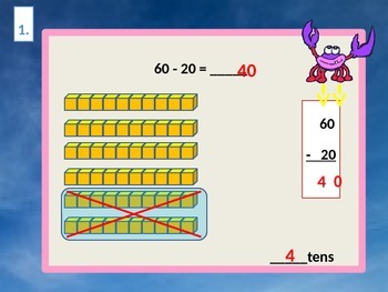 Subtracting Tens for Visual Learners