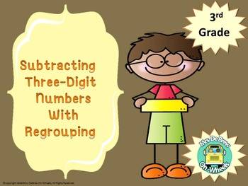 Subtracting Three-Digit Numbers With Regrouping