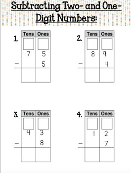 enVISION MATH Common Core Realize Edition- Subtracting Two Digit Numbers