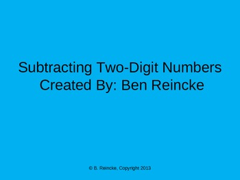 Subtracting Two-Digit Numbers TurningPoint Clicker Presentation