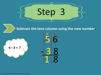 Subtracting Two-Digit Numbers With Regrouping