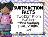 Subtracting Two Digits from Two Digits without Regrouping I have..Who has..